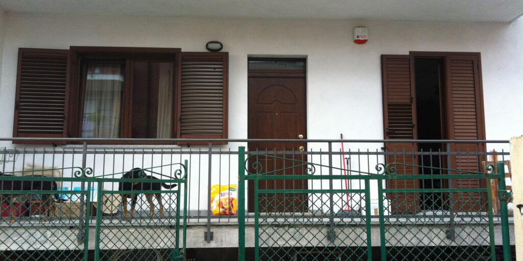 Villetta con monoblocco